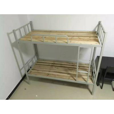 学校双层钢床 现代中式 宿舍双层 重庆钢床 批发