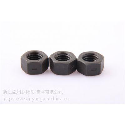 温州厂家新阳标准件紧固件法兰自锁螺母