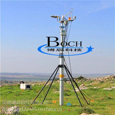 博辰6.5米支架型气动杆 三脚架升降杆 云台升降支架