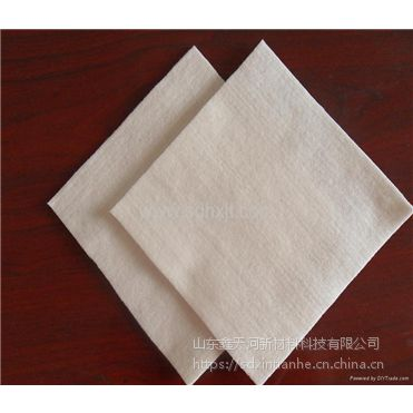 土工布200g鑫天河聚酯纤维养护复合布无纺两布一膜山东厂家直销