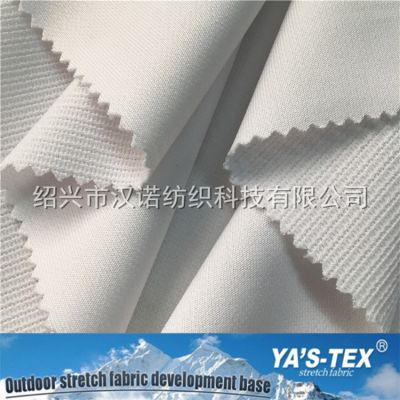 160CM 涤纶针织弹力面料 罗圈纹路 服装用布