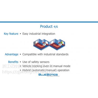 瑞士bluebotics激光导航系统驱动模块