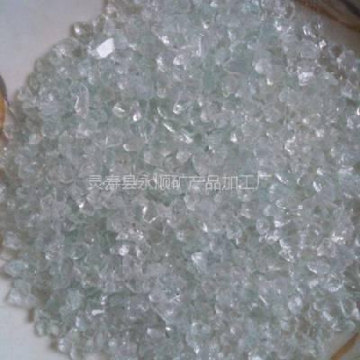 河北透明玻璃砂生产厂家,永顺1-3毫米透明玻璃砂