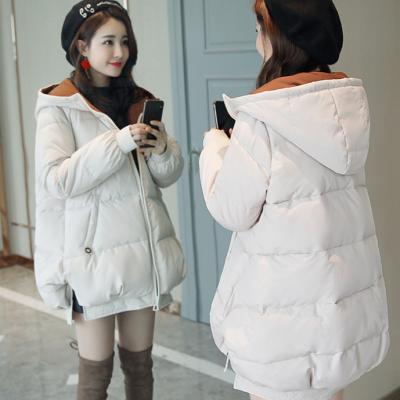 冬季清仓尾货便宜服装 库存杂款女装韩版羽绒服 女式羽绒服批发白鸭绒