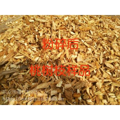 晨红机械厂的树枝粉碎机占领了国内外市场
