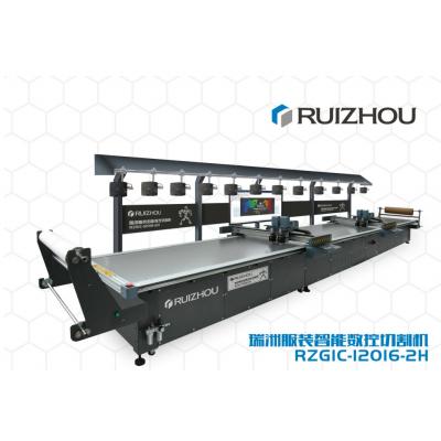 瑞洲服装智能数控切割机RZGIC-12016-2H