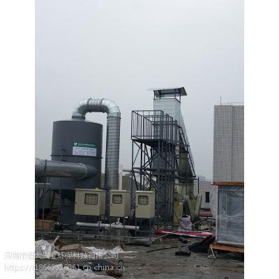 供应湛江FRP净化塔酸性废气治理工程恒大兴业专业性设计方案及一站式服务