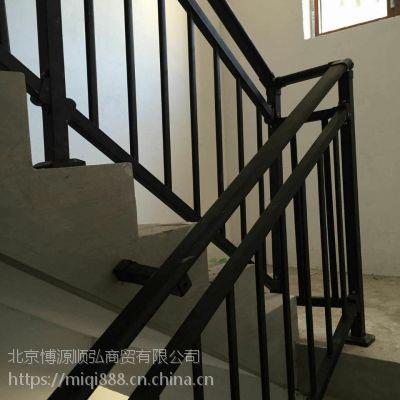 渭南仿木纹靠墙扶手HC,Q235渭南锌合金楼梯扶手,组装护窗围栏,喷塑楼梯护栏,
