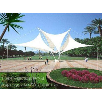 PVDF公园景观张拉膜小品充电桩膜结构遮阳棚工厂入口膜结构