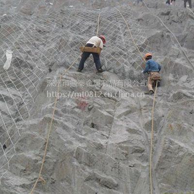 深州振泰现货出售250蜘蛛网@热镀锌钢丝4*4m蜘蛛网@自然灾害防护网