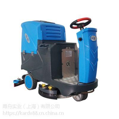 物流中心用驾驶式洗地机,依晨电瓶式驾驶洗地机YZ-JS1000