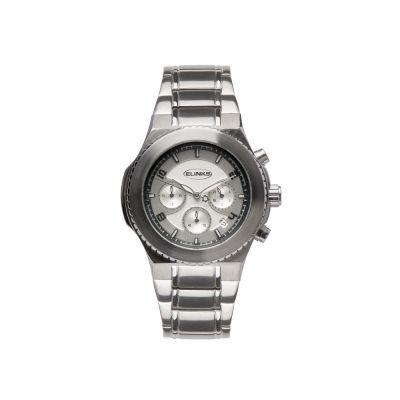 戈菲尔热销不锈钢商务男士手表纯锗石养生降压日历石英表