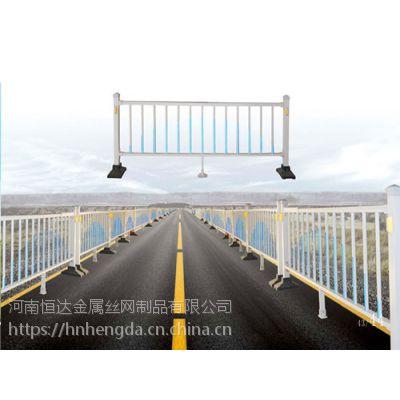 郑州道路护栏效果图 市政护栏哪里有