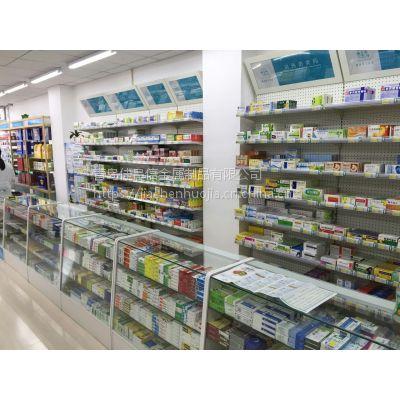专业供应青岛药店货架 超市货架 山东药店货架 药店货架