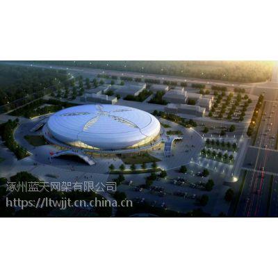 新疆莎车县体育中心钢结构项目/钢及合计结构钢/大跨度的体育场馆