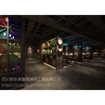 成都主题餐厅设计|专业餐厅装修公司|花园餐厅设计