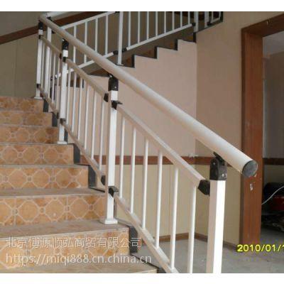 Q235铜川仿木纹楼梯扶手,组装护窗围栏,铜川喷塑楼梯护栏,锌合金靠墙扶手HC,