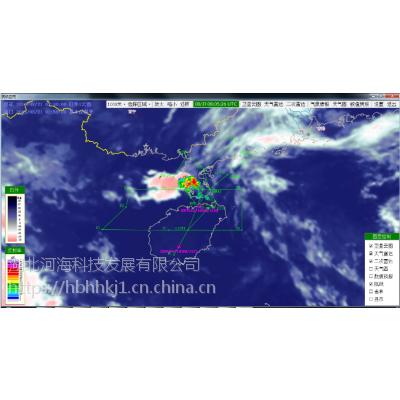 民航气象信息与航迹融合显示系统