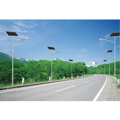 铜陵7米40W锂电池太阳能路灯一套多少钱