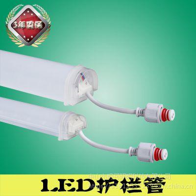 贵阳超声波防水LED护栏管夜景亮化生产厂家明可诺因为专业所以专注