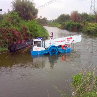湖南收集水草船 打捞水面垃圾设备现货