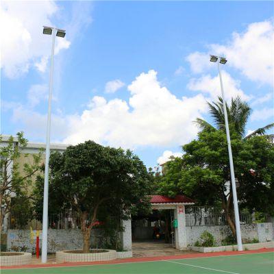 茂名市羽毛球场灯杆 生产各种球场灯杆 热镀锌灯杆