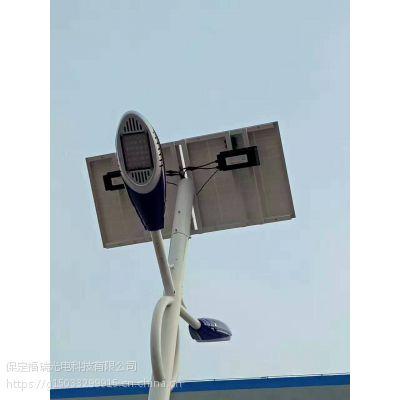 福瑞光电FR-ld-083 新农村简易抱杆太阳能路灯安装使用