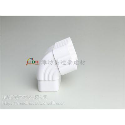 杭州PVC雨水管厂家 PVC檐槽价格 天沟彩色 咖啡色 白色