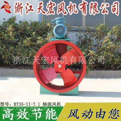 天宏BT35-II-7.1轴流风机电机外置防爆电机