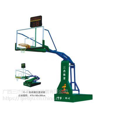 黎平批发篮球架_黎平移动篮球架批发,广西三杰体育质量好价格低