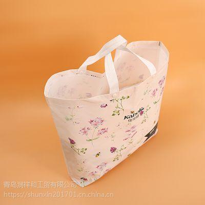 潍坊PVC塑料袋经典款式帮助人群环保材质重复使用