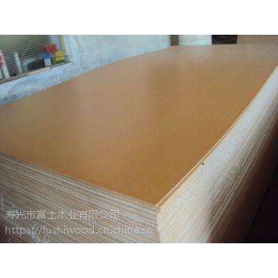 供应天然木皮贴面中密度纤维板 科技木皮贴面