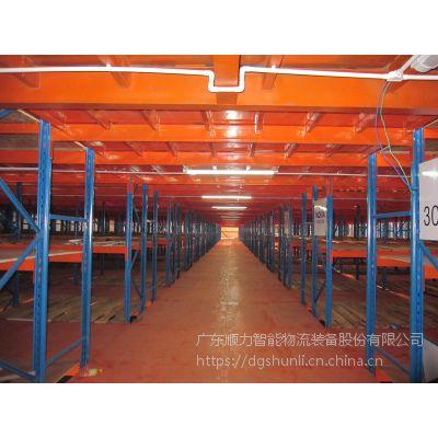 供应东莞、深圳、广州、清远、佛山等区的组合阁楼式货架的特点