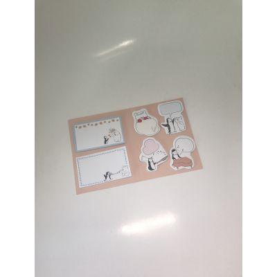 东莞博艺印刷品-定制创意有趣的卡通便签组合