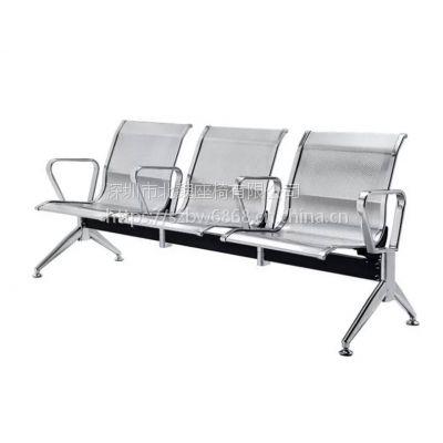 不锈钢排椅3d图-现代不锈钢公共排椅-3人位不锈钢公共排椅