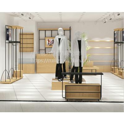YSM女装货架服装店陈列架落地展示台定做正侧挂组合柜