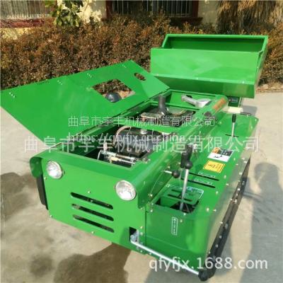 自走式多功能开沟施肥机32马力柴油果园施肥回填机履带式微耕机
