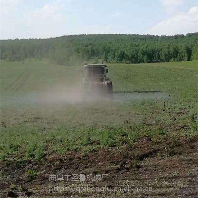 四轮车载式喷雾器 安徽麦田打药机 圣鲁高压喷雾器