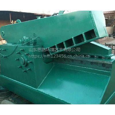 思路液压剪切机160-250吨 剪切机实用视频 钢材废金属切段机厂家