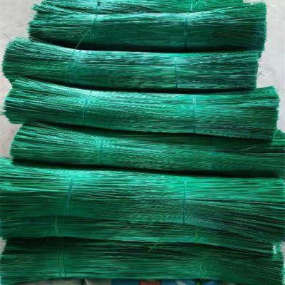 供应圆形金属包塑丝 镀锌铁丝 草绿色涂塑铁丝 质量鉴定