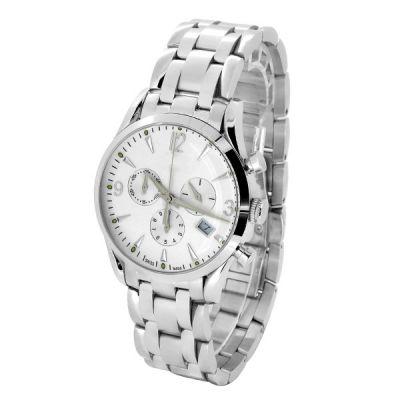 超薄款男士商务不锈钢石英手表定制,厂家直销【稳达时】