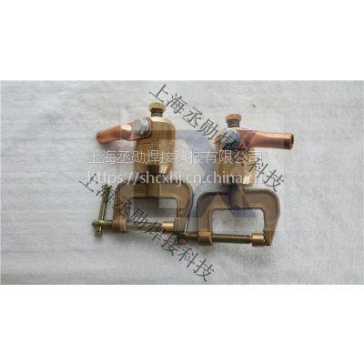 上海丞勋电焊地线夹直销-1500A焊接旋转全铜地线夹价格