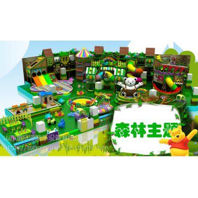 山东东营淘气堡儿童乐园 大型蹦床粘粘乐蜘蛛人 海绵池积木池沙池百万球池 幼教玩具