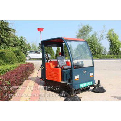 小区保洁扫地车/道路清扫车价格/陕西普森PS-J1860AB电动新能源扫地机