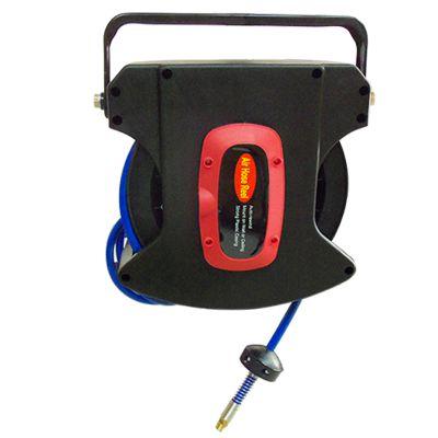 供应深圳宝润佳HB15型自动回收气管卷管器 伸缩型夹纱气管卷盘