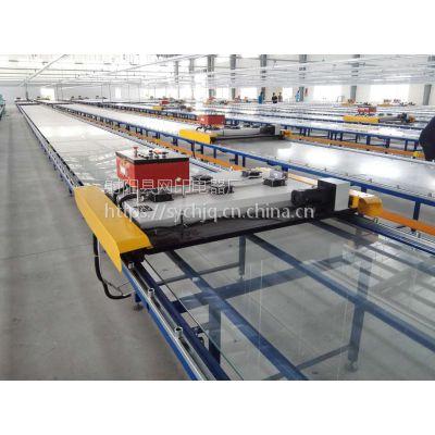 供应定制各型手工服装印花成衣玻璃台板(跑台)及台板烘干机