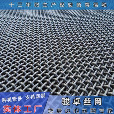 白钢钢丝网 编织煤矿轧花网片标准 制造厂家