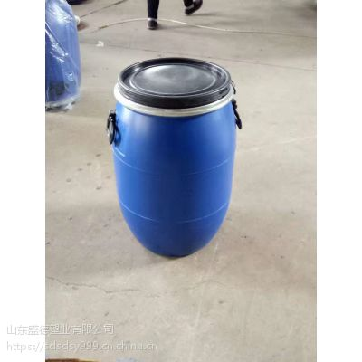 青岛50升抱箍桶 全新50L塑料桶PE全新桶厂家直销