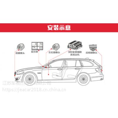 车视杰360度全景3D行车辅助系统