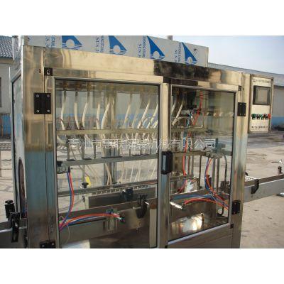 塑料桶酒灌装机溶液灌装机全自动白酒灌装生产线